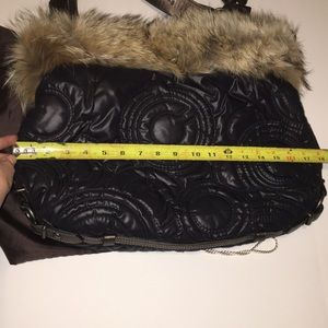 Large Limited Edition COACH FUR Handbag